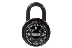 ABUS 78KC Series Dial & Key Over-Ride Combination Open Shackle Padlock