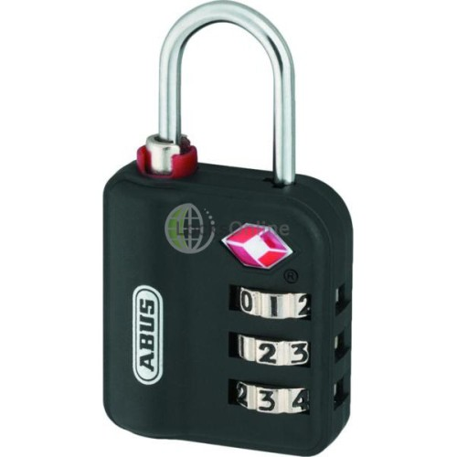 Main photo of ABUS 147TSA Series Combination Luggage Open Shackle Padlock