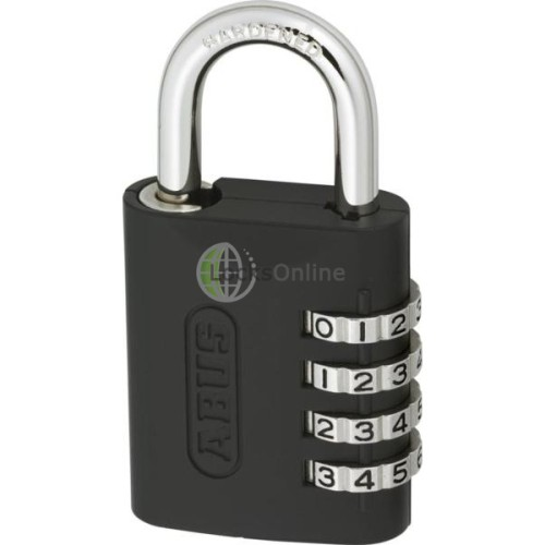 Main photo of ABUS 158KC Series Combination Open Shackle Padlock With Key Over-Ride