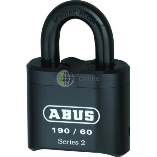 Main photo of ABUS 190 Series Heavy Duty Combination Open Shackle Padlock