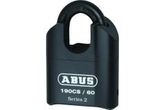 ABUS 190 Series Heavy Duty Combination Closed Shackle Padlock