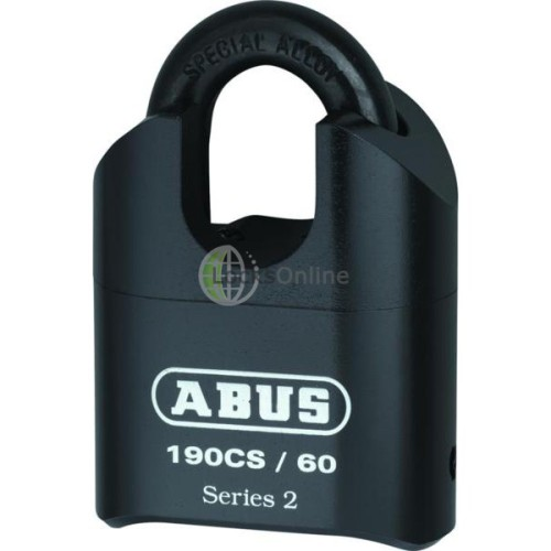 Main photo of ABUS 190 Series Heavy Duty Combination Closed Shackle Padlock
