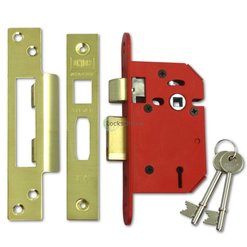 Main photo of UNION StrongBolt 3 Lever Sashlock for Internal Doors