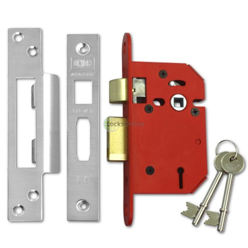 UNION StrongBolt 3 Lever Sashlock for Internal Doors
