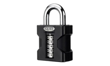 Squire SS50 Stonghold Steel Open Shackle Recodable Combination Padlocks