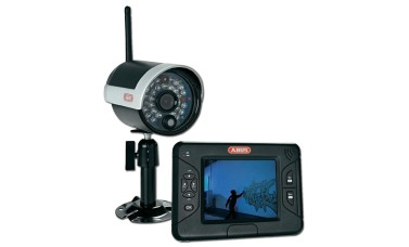 "ABUS TVAC15000 Wireless IR Outdoor 3.5"" Screen CCTV Kit"