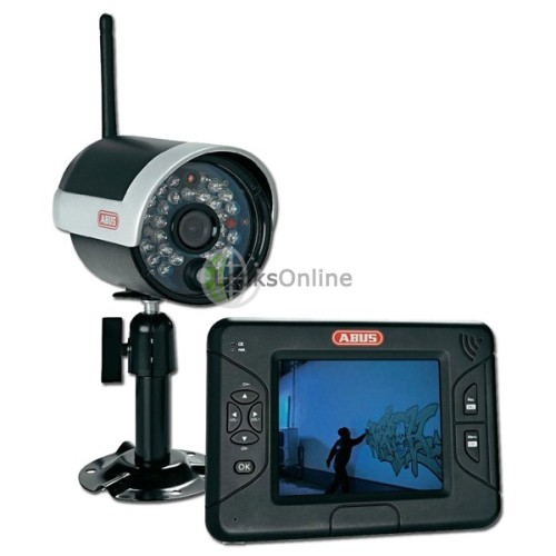 "Main photo of ABUS TVAC15000 Wireless IR Outdoor 3.5"" Screen CCTV Kit"