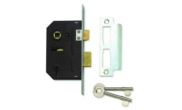 Union Fire-Rated 3 lever Sash Lock