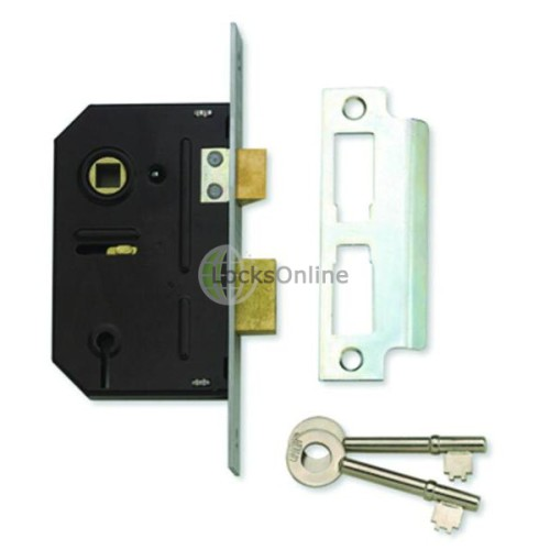 Main photo of Union Fire-Rated 3 lever Sash Lock