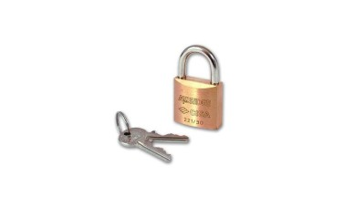 Cisa 22110 Brass Body Padlock Keyed Alike