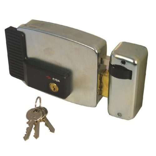 Main photo of Cisa 11921 Series Electric Lock Externa Metal Door and Gate