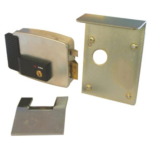 Main photo of Cisa 11823 Series Electric Lock External Gates Garage Doors