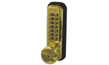 Lockey 2435K Mechanical Push Button Lock