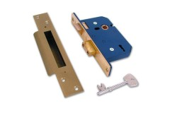 Willenhall 5 lever Sash Lock Master Keyed