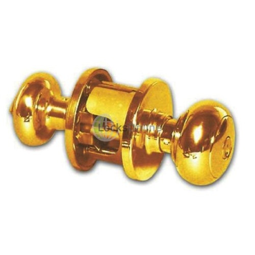 Main photo of Weiser NA530T Troy Front Door Knob Set