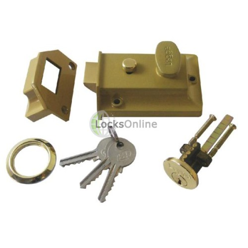 Main photo of Legge 66 Rim Cylinder Night Latch