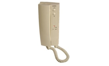 Videx 3112A 2 Button Handset with On/Off Switch - Electronic Call Tone