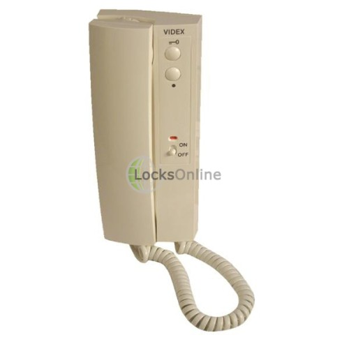 Main photo of Videx 3112A 2 Button Handset with On/Off Switch - Electronic Call Tone