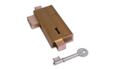 Union 21077 5 Lever APG Glass Door Deadlock