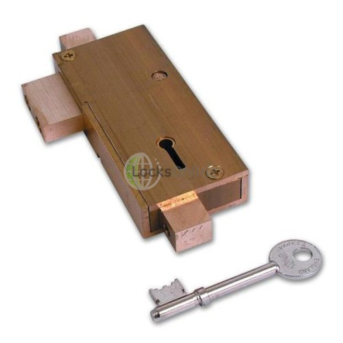 Main photo of Union 21077 5 Lever APG Glass Door Deadlock
