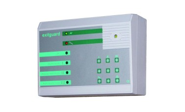 Hoyles EX205 12vdc powered EXITGUARD alarm with integral keypad