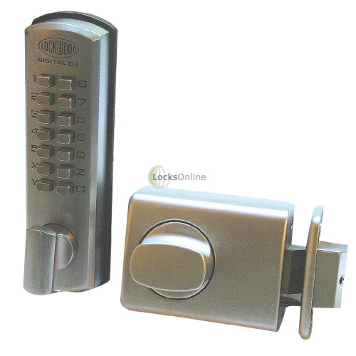 Main photo of Lockwood DGT002 Mechanical Push Button Lock