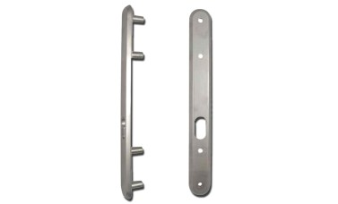Lockguard For Oval Profile Cylinder Deadlock Kickstop 9601OV
