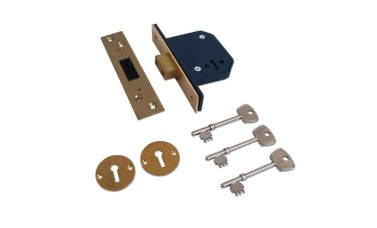 Willenhall M1C - 115 5 Lever Deadlock