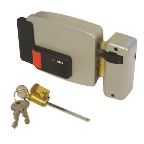 Main photo of Cisa 11610 Series Electric Lock Internal Timber Doors Case Only