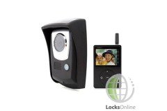 Portable Wireless Video Door Intercom - 2.4