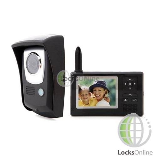 "Main photo of Portable Wireless Video Door Intercom - 3.5"" Display"