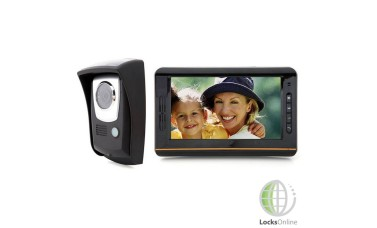 "Wireless 7.5"" Touch-Screen Video Door Intercom System"