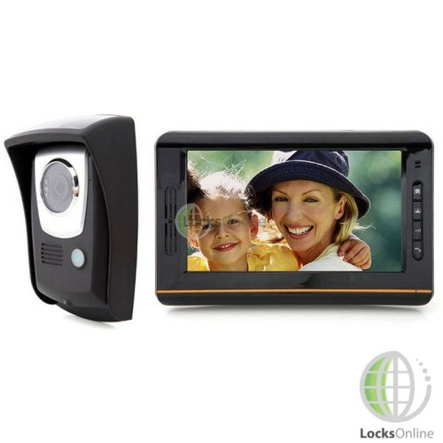 "Main photo of Wireless 7.5"" Touch-Screen Video Door Intercom System"