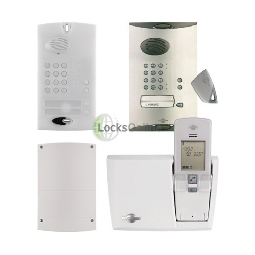 Main photo of Daitem Wireless Intercom keypad and fob Kit battery version