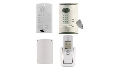 Daitem Wireless Intercom keypad and fob Kit powered version