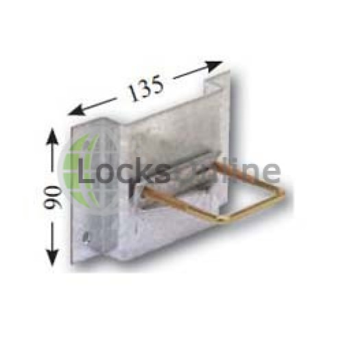 Main photo of MJM32X Wall Fixing Plate  - Locksonline Daitem