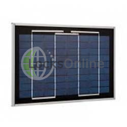 Main photo of MJU01X 8W Solar Panel  - Locksonline Daitem