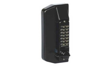 Metal Gate Lock With Combination Keypad Both Sides