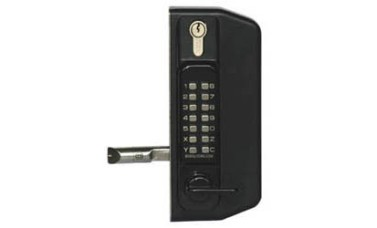 Borg Combination Lock Keypad Both Sides With Key Override