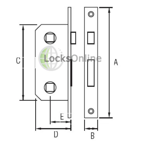Timage Marine Euro Locks for Main Doors and Companion