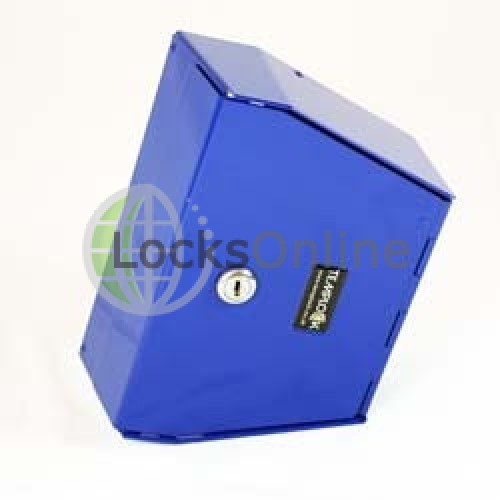 Main photo of Templock Key Blue Temporary Door Lock