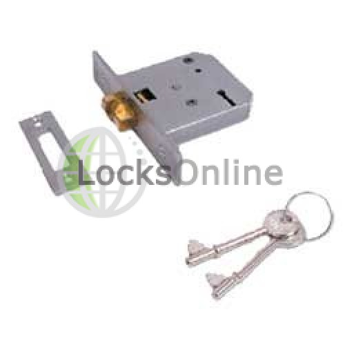 Main photo of Union 2477 3 Lever Sliding Mortice Deadlock