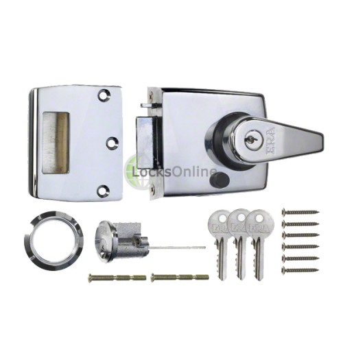 Main photo of ERA 183 & 193 Auto-Deadlocking Nightlatch with Holdback