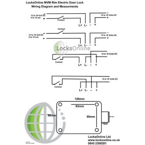 locksonline mvm electric rim lock diagram 500x500 buy diax mvm motorized electric rim lock locks online electric rim lock wiring diagram at bakdesigns.co