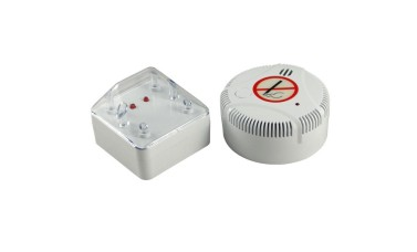 Puff Alert Cigarette Smoke Detector and Remote LED Indicator