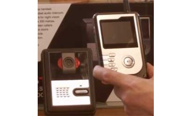 Vu-Com Wireless Colour Video Door Phone