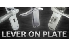 LocksOnline Lever on Backplate Door Handles