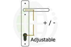 Adjustable PZ Centres uPVC Handles