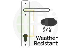 Weather Resistant uPVC Door Handles