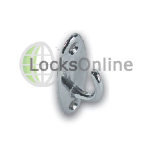 Main photo of Oval Coat Hooks in Brass or Chromium Plated